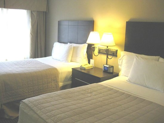 Holiday Inn Express & Suites: Our two queen beds