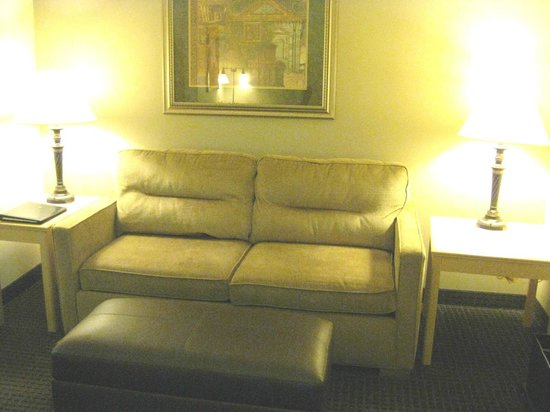 Holiday Inn Express & Suites: Sofa in suite