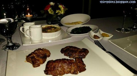 N Grill : Our main course for two people