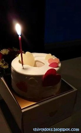 N Grill : Complimentary cake