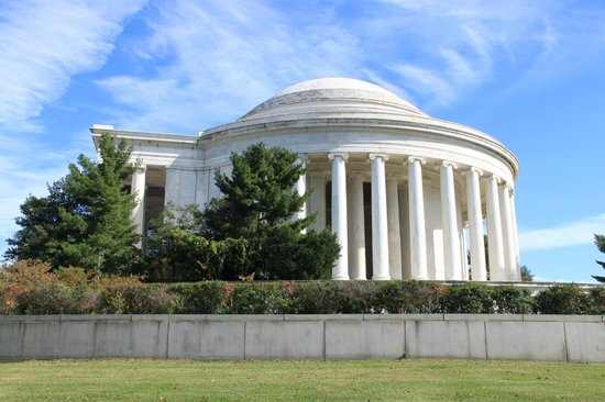 Jefferson Memorial : From the outside