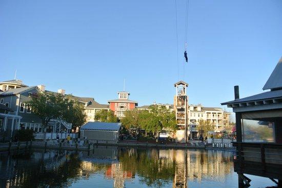 Village of Baytowne Wharf : zipline again