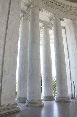 Columns of the Jefferson Memorial