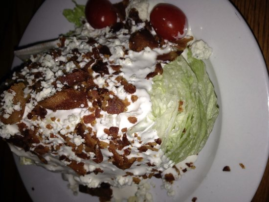 Millhouse Steakhouse: The wedge salad