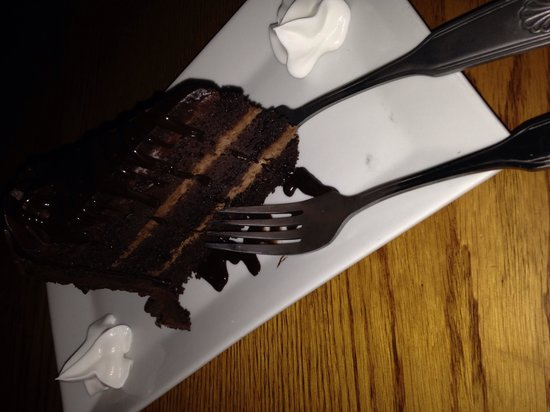 Millhouse Steakhouse: Chocolate overload