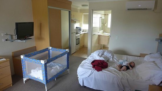 George Bass Motor Inn: Large double room