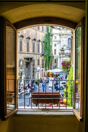 Locanda Navona: View from our window