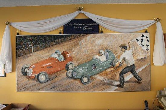 Grand Prix Motel: LOBBY