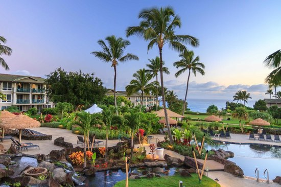 Westin Princeville Ocean Resort Villas : Grounds