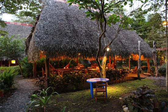 Luna Negra: Dining Ranchero at night