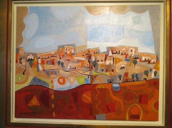 Mizel Museum : modern art rendition of Israel