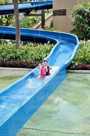 Shangri-La's Tanjung Aru Resort & Spa : Water playland