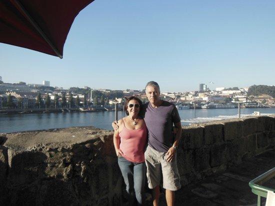Pestana Vintage Porto: vista do  apt e tb do restaurante
