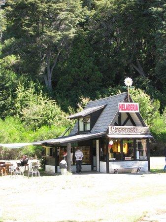 Restaurante Fundo Colonia Suiza: Heladeria Bocaccio