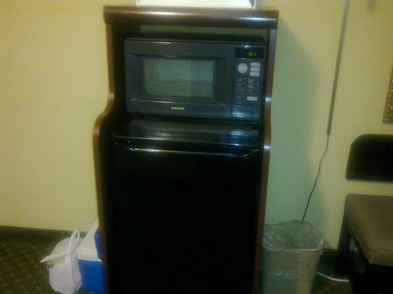 Quality Inn at Carowinds: Microwave and Frig