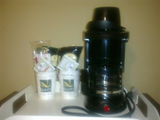 Quality Inn at Carowinds: Coffee Pot