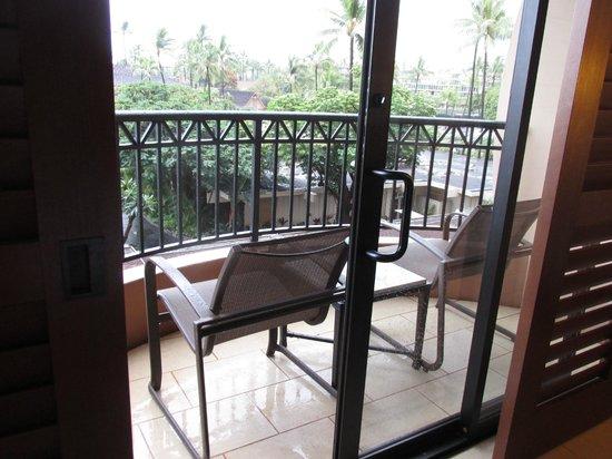 Royal Lahaina Resort : Balcony