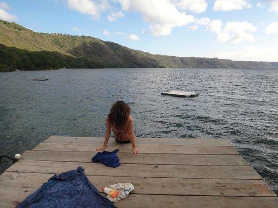 The Monkey Hut: the lagun