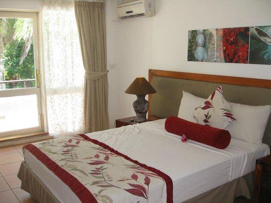 The Pearl Resort: Bedroom area