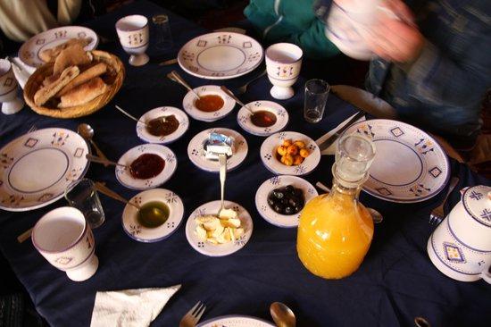 Hotel Riad Ali: Breakfast
