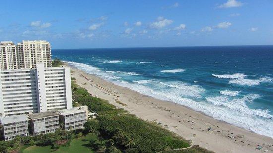 Marriott's Oceana Palms: North along Atlantic beach