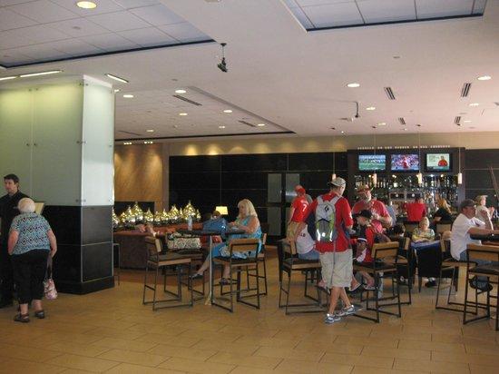 Lobby area, Hilton St. Louis at the Ballpark, St. Louis, MO