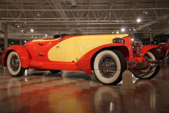 Just one of the many beautiful Duesenberg automobiles you will see