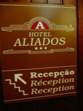 Hotel Aliados: elevador