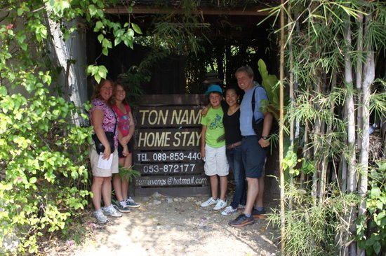 Tonnam Homestay: Saying good-bye