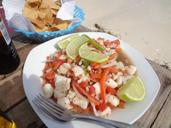 Tropicante Ameri-Mex Grill: Best ceviche we had on this trip!
