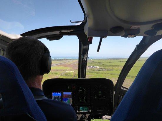 Blue Hawaiian Helicopter Tours - Maui : all the seats had good views