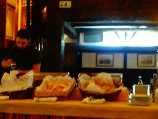 SANA Rex Hotel: detalhe do café