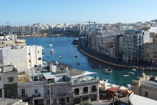 Argento Hotel : Nice view of Spinola Bay from room