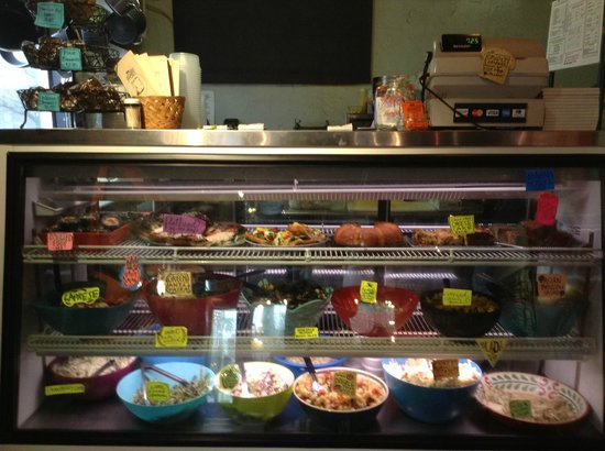 Brown Bag Deli: various dishes