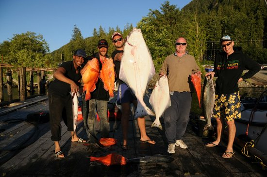 Fishing Storie Charters: Vancouer Island Halibut & Red Snapper