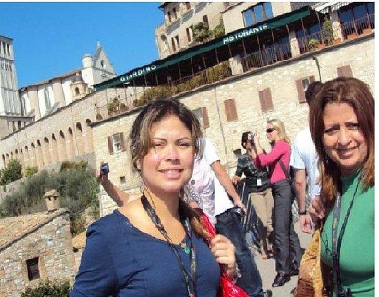 Assisi, İtalya: Dia  lindooo!