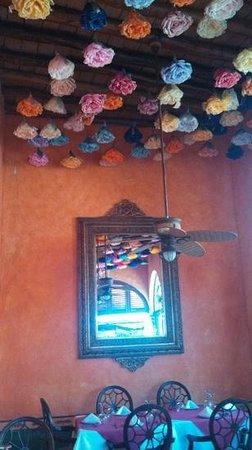 Hotel Posada del Hidalgo: el comedor