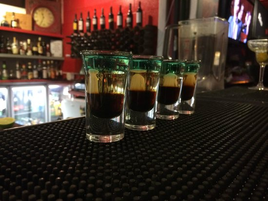 Salt Seafood Bar and Grill : Shots