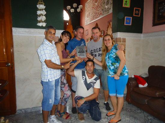 Casa Colonial Yadilis y Joel: La familia