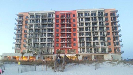 Hampton Inn & Suites Orange Beach : beach view