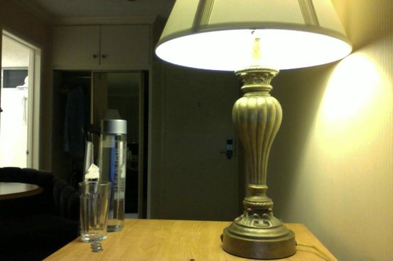 Best Western Plus Pepper Tree Inn : lovely light fixture :)