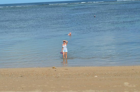 Griya Santrian: beach