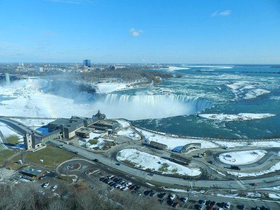 Niagara Falls Marriott Fallsview Hotel & Spa: Vista do quarto