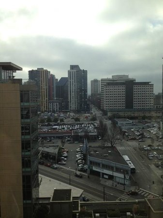 Pan Pacific Seattle: View facing west
