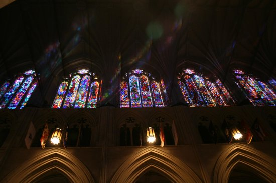 Washington National Cathedral: Some of the Stained Glass