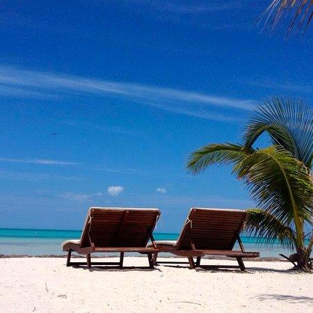 Holbox Hotel Mawimbi: Mawimbi beach