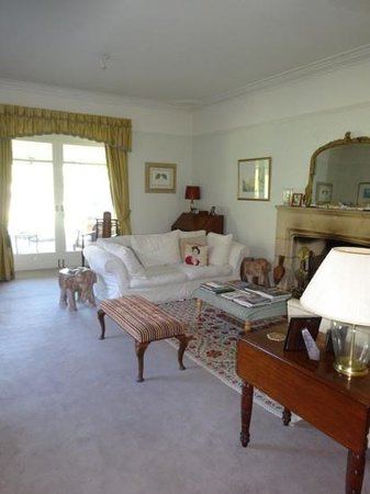 Castleton House: Sitting room