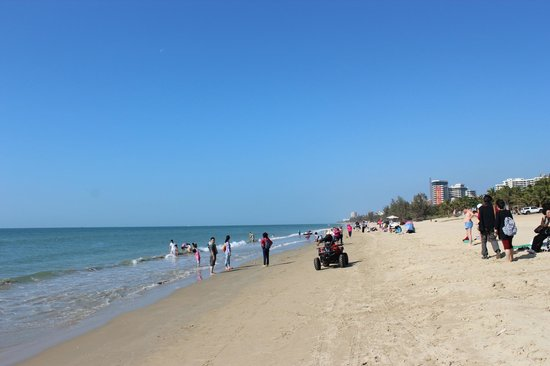 Palm Beach Resort & Spa Sanya : На пляже целый день ездят квадроциклы, очень шумно