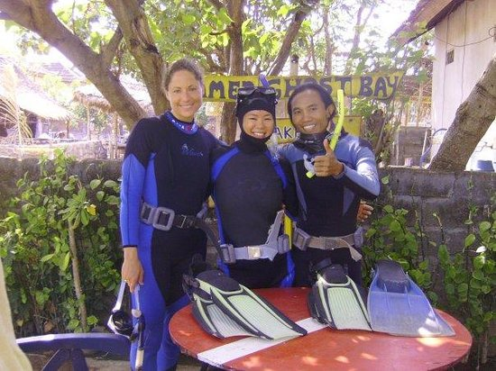 Amed Dive Center: Make Bubbles No Troubles