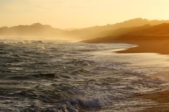 Sunset at Zinkwazi Beach